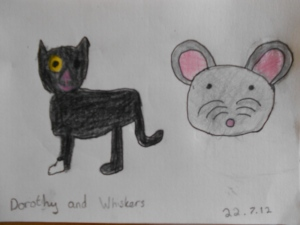 Dorothy and Whiskers by dort