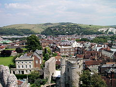 Historic town of Lewes