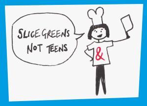 slice greens not teens