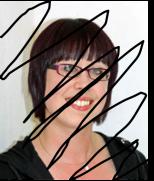 Author photo scribble