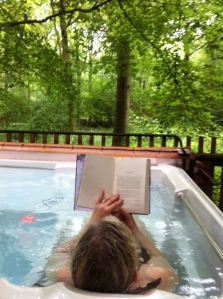 Hot tub reading