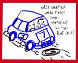 pacenotes cartoon