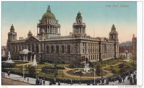 Belfast City Hall -- a grand new building in Helen's time.