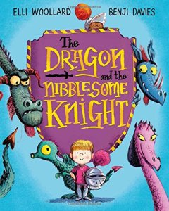 The Dragon and the Nibblesome Knight by Elli Woollard nd Benji Davies is out on 5 May