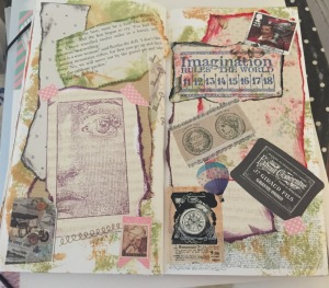 Random Collage from my Journal